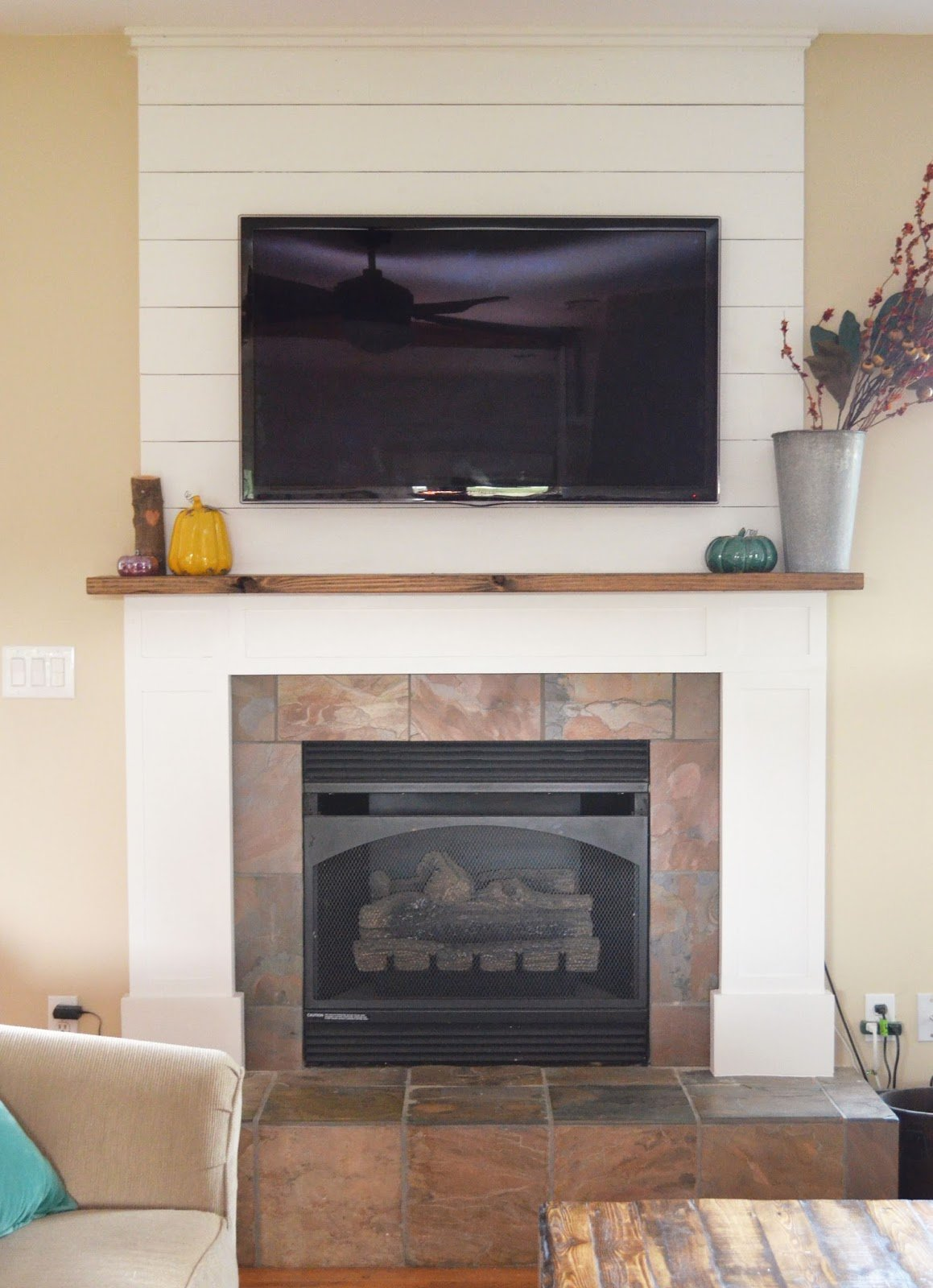 Farmhouse Fireplace Renovation