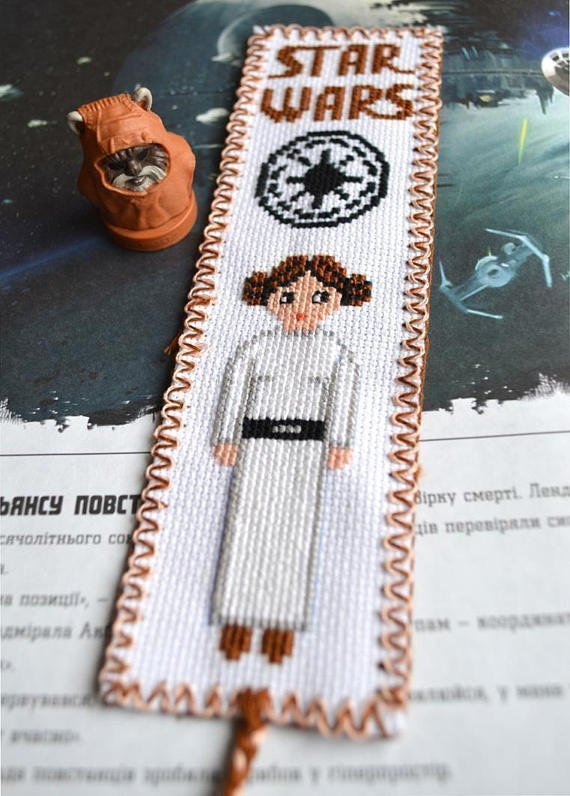 Nice  Star Wars patterns for cross stitching before new episode release