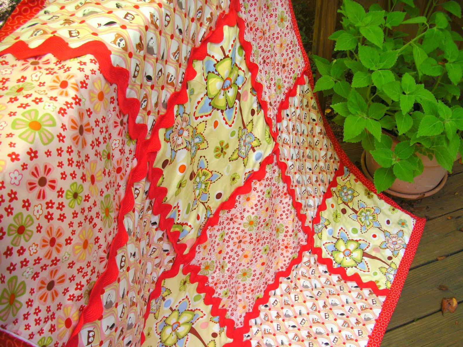 Cozy Woodland Snuggle Quilt