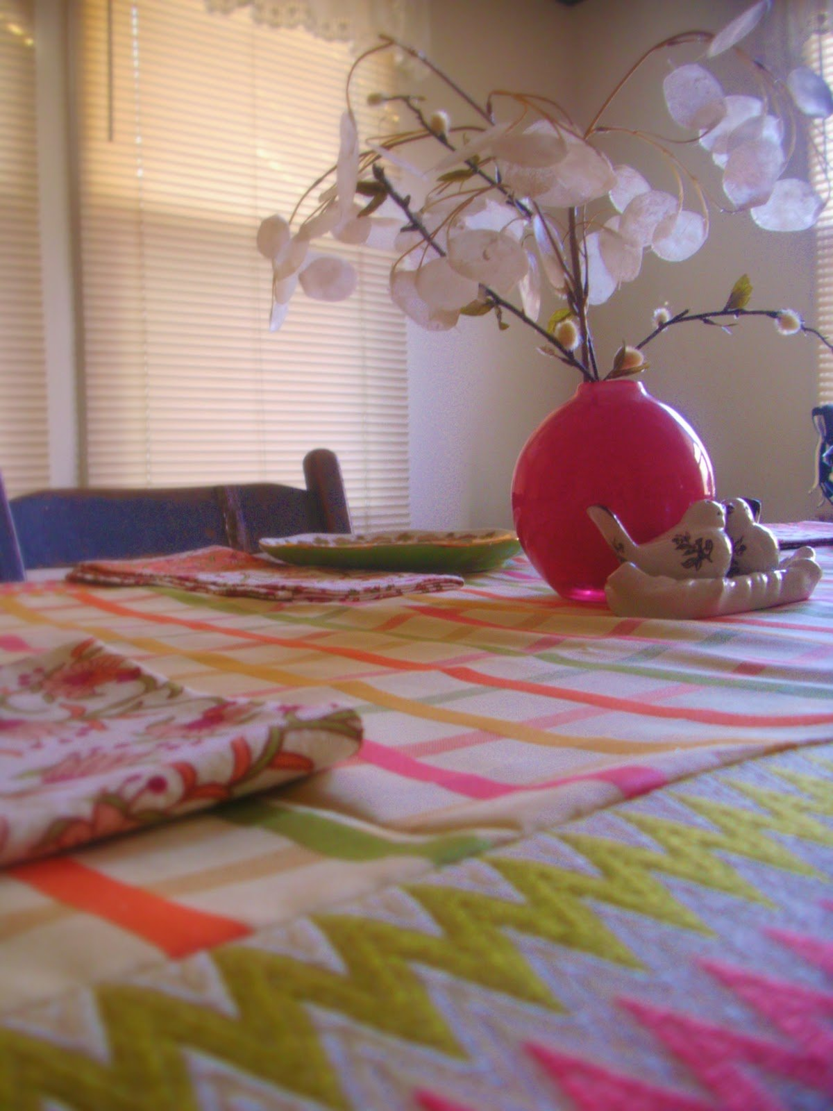 DIY SpringTablecloth