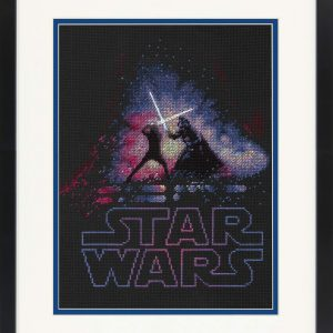Star Wars Luke Skywalker and Darth Vader Cross Stitch Kit