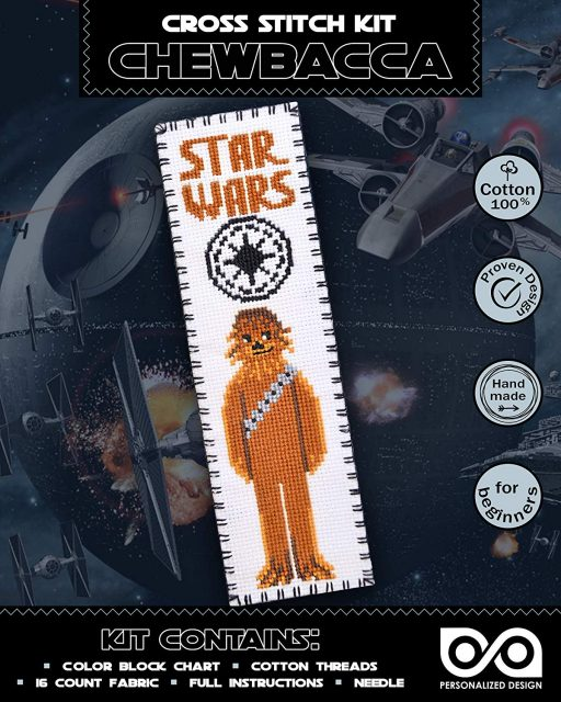Cross Stitch Kits 'Star Wars' Chewbacca