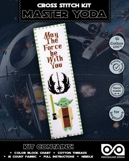 Cross Stitch Kits 'Star Wars' Master Joda