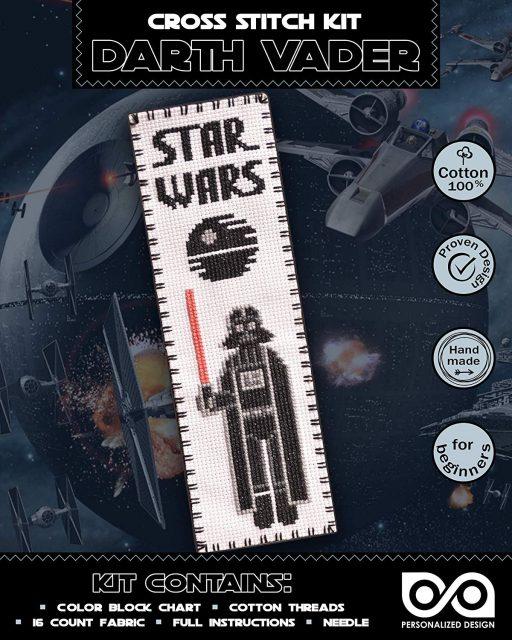 Cross Stitch Kits 'Star Wars' Darth Vader