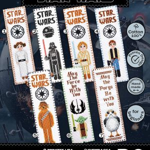 Cross Stitch Kits 'Star Wars' - Set 7-in-1
