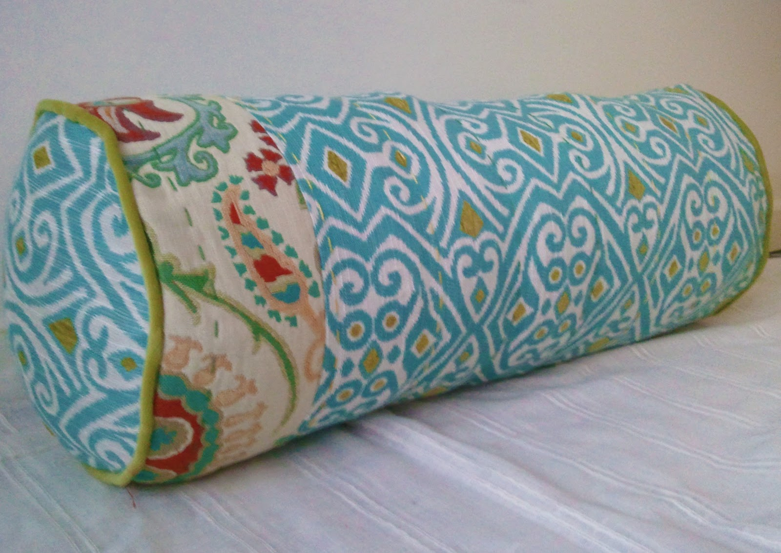 DIY Anthropologie-inspired Bolster Pillow