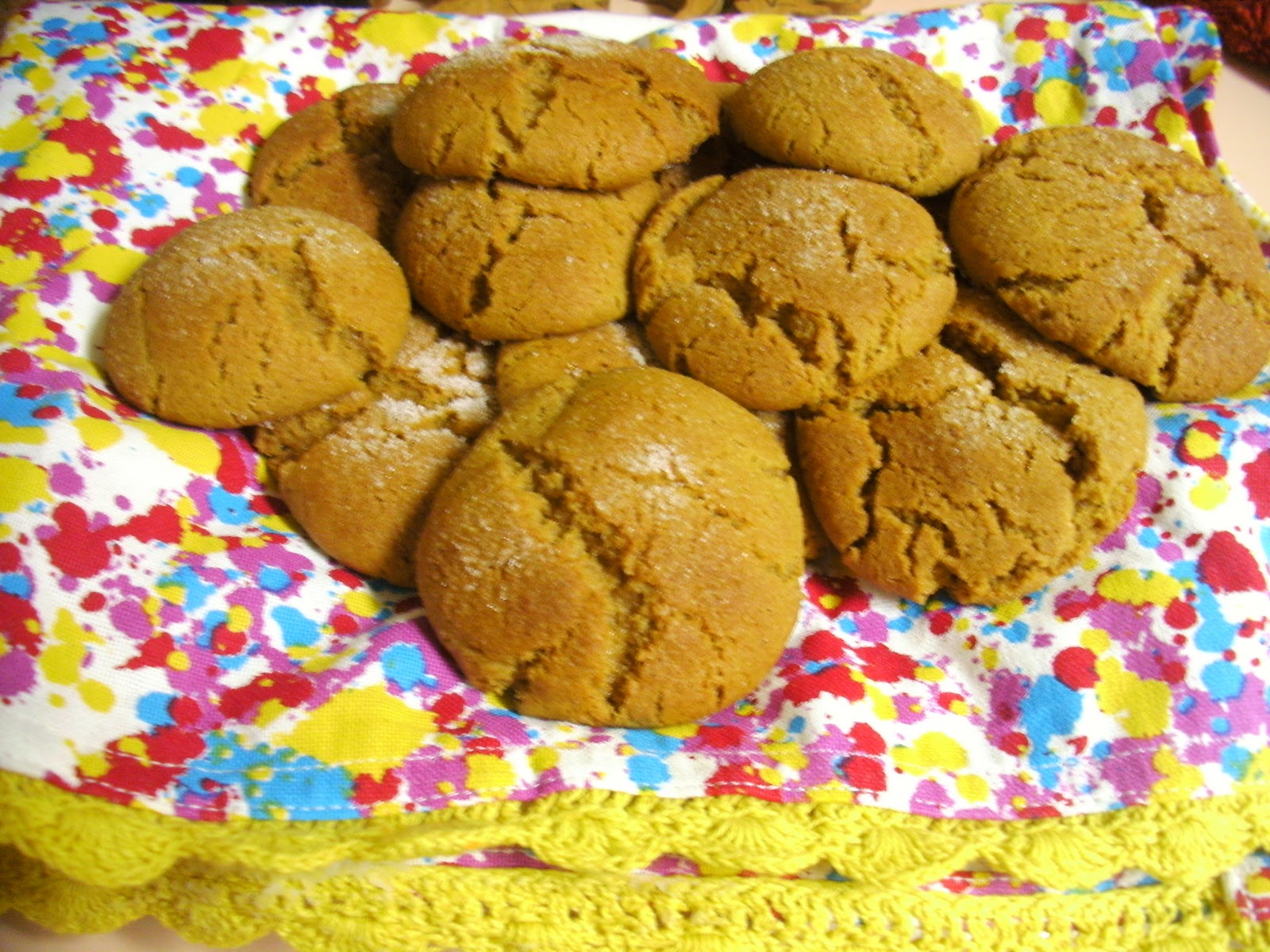 Ginger Molasses Cookies + Hiking Pics