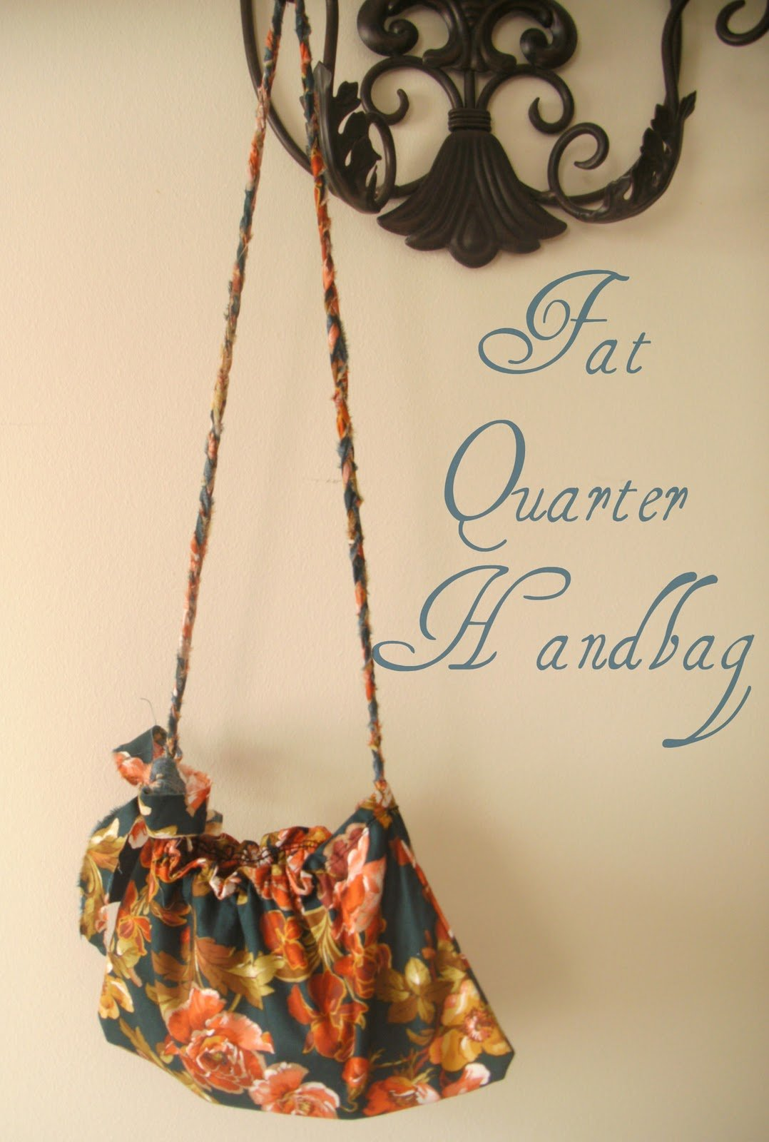 DIY – fat quarter Date-night Handbag