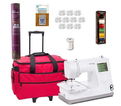 Bernette 340 Deco Swiss Design Embroidery Machine with Bonus Combo