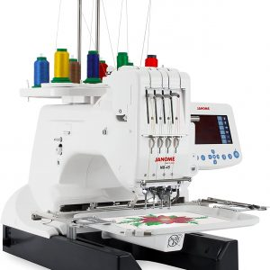 Janome MB-4S with accessories
