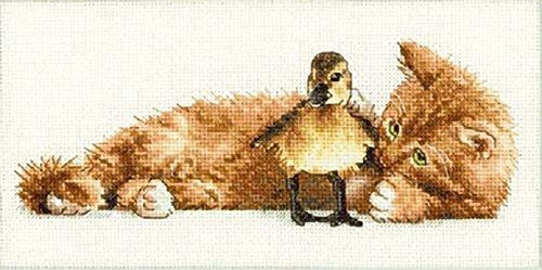 DIMENSIONS NeedleCrafts Gold Petite Collection Counted Furry Friends Cross Stitch