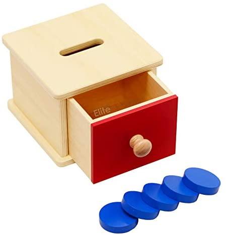 Elite Montessori Coin Box