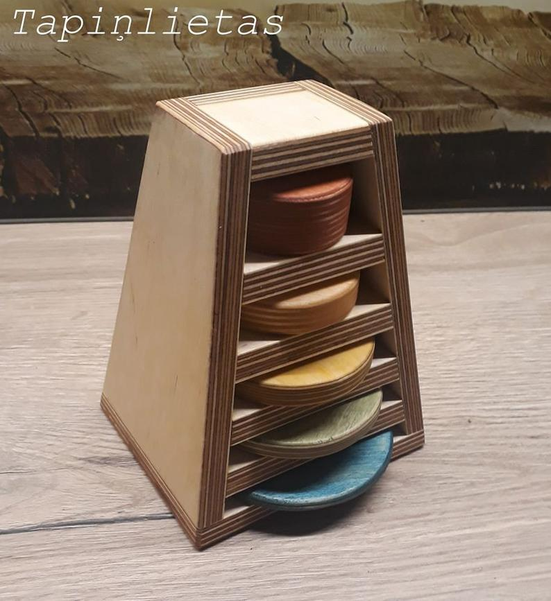 Tapintoys Size Sorting Puzzle Tower