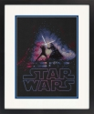 Star Wars Luke Skywalker and Darth Vader Cross Stitch Kit