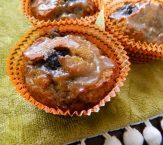 Grain Free Pumpkin Blueberry Muffins