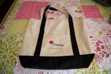 *Guest Post Thursday* Repurposing A Canvas Bag (AKA Making It More Awesome)