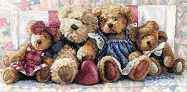 Dimensions Gold Collection Counted Cross Stitch Kit A Row of Love
