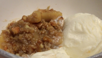 Delectable Apple Crisp