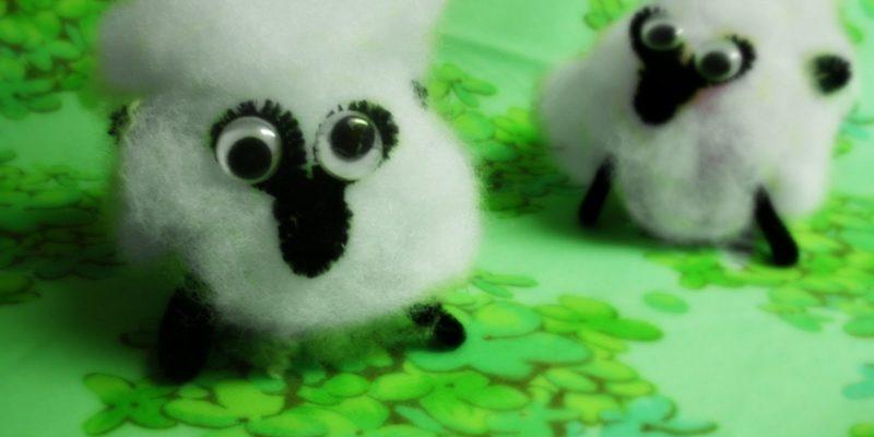 Sheepishly Fun – kid's craft