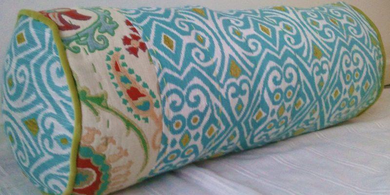 DIY Anthropologie-inspired Bolster Pillow