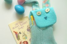 DIY Bunny Pencil Pouch – inspired by West Elm