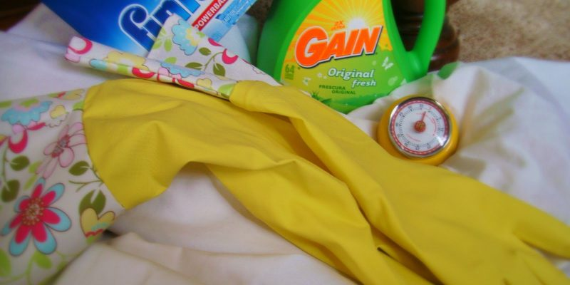 4 household chores I hate and how I am learning to get over it….