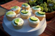 Delicious summery cupcakes!