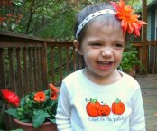 Janie and Jack-o-lantern: DIY T-shirt Applique