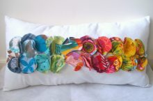 DIY Color Path Pillow