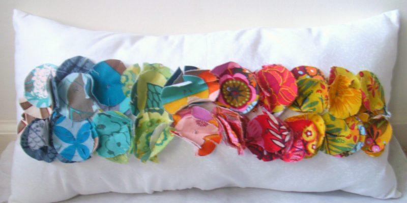 DIY Color Path Pillow