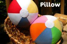 {DIY} 6 Piece Beach Ball Pillow