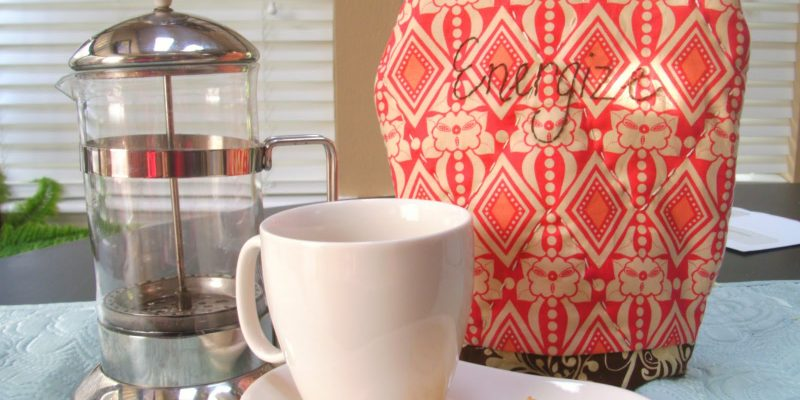 French Press Cozy Tutorial