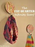 {DIY}The Fat Quarter Infinity Scarf