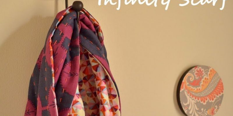 {DIY}The Fat Quarter Infinity Scarf