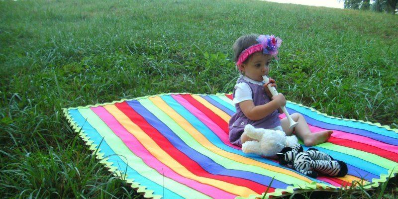 Charlotte and the Amazing Technicolor DreamRug
