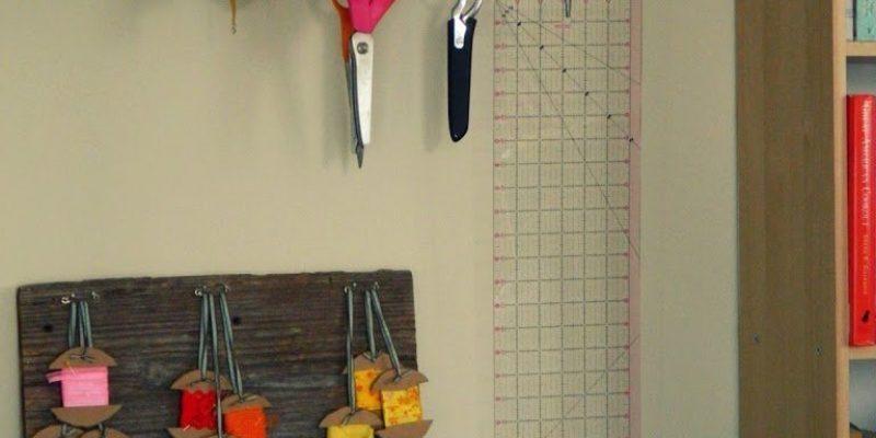 {DIY} Ribbon Storage